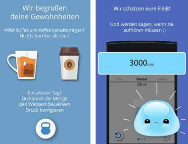 Wasser Zeit App