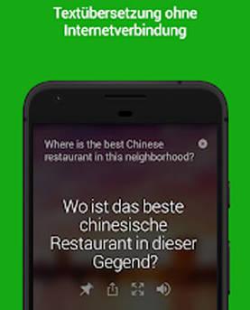 Microsoft Übersetzer App