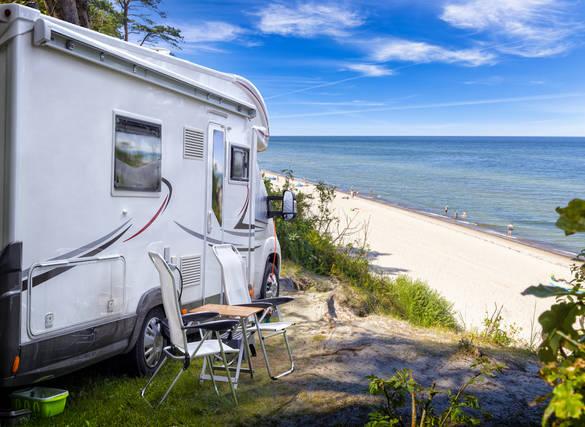 Mit dem Camper verreisen