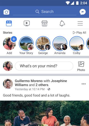 Facebook – die beliebte Social Media App fuer Android aus dem Play Store