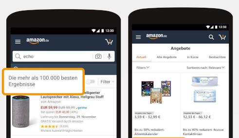 Amazon – die weltweit groeßte Online-Verkaufsplattform
