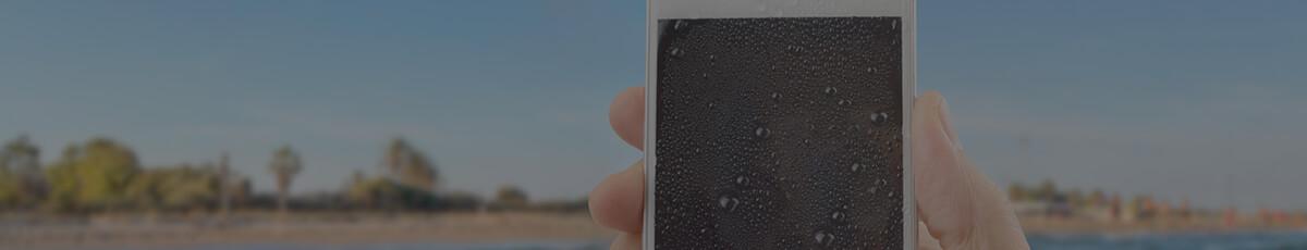 Titelbild Magazin-Artikel Smartphone Wasserschaden
