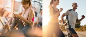Top Fitness-Apps für iPhone und Android