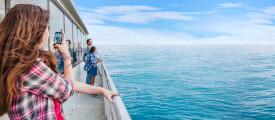 Handynutzung auf Kreuzfahrtschiffen