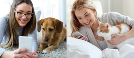 Praktische Haustier Apps