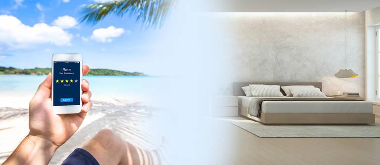 Hotelsuche per App