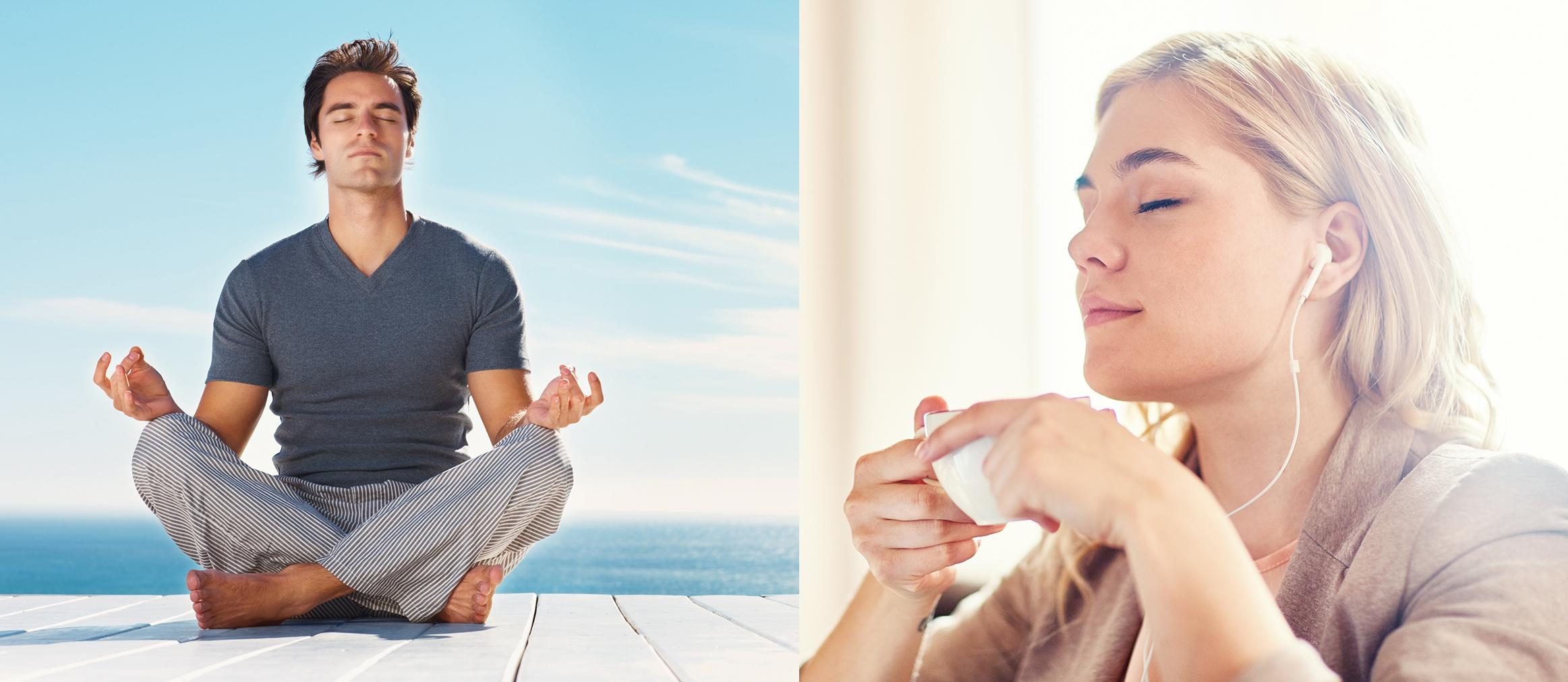Innere Ruhe und Entspannung