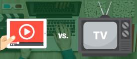 Video-Streaming vs. TV