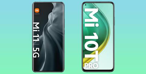Mi 11 5G & Mi 10T Pro 5G im Test: Welches Xiaomi-Handy überzeugt mehr?