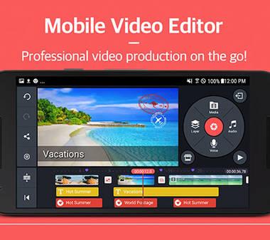 Videos professionell auf dem Handy bearbeiten