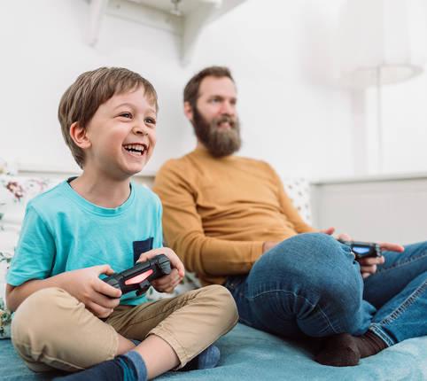 Wann kann sich Videospielen positiv auf das Kind auswirken?