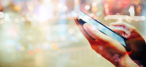Handy-Hintergrund und Handytarif wie maßgeschneidert