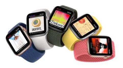 Apple watchOS 7 mit neuen smarten Funktionen