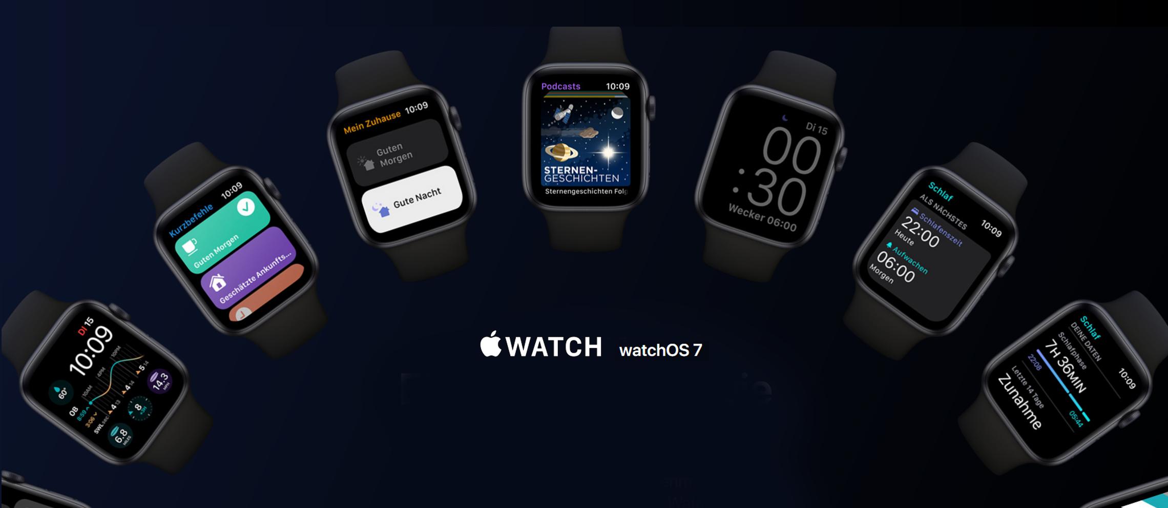 Das Apple watchOS 7 Update