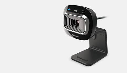 Die HD-3000 von Microsoft ist eine preiswerte Webcam für alle