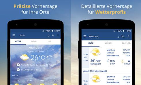 Wetter.Com App