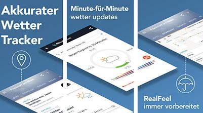 AccuWeather - minutengenaue Wettervorhersagen und Live-Radarbilder