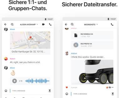 Wire - WhatsApp Alternative made in Berlin