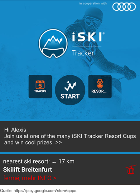 Die Allround-App für den Wintersport