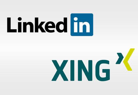 Business-plattformen LinkedIn und XING