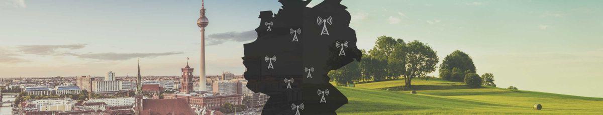 LTE-Netz auch in Ihrer Region verfügbar